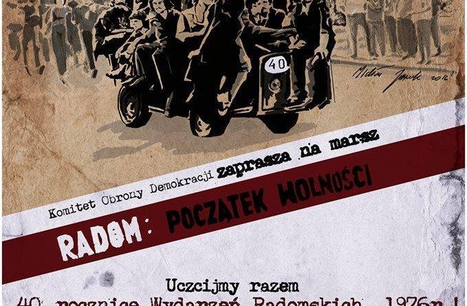 Plakat Marsz Wolności