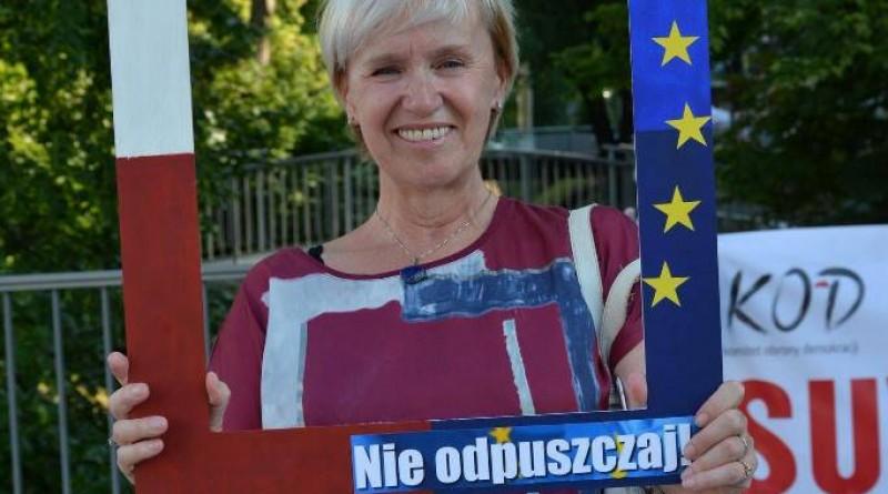 Pikieta KOD. Europo, nie odpuszczaj!
