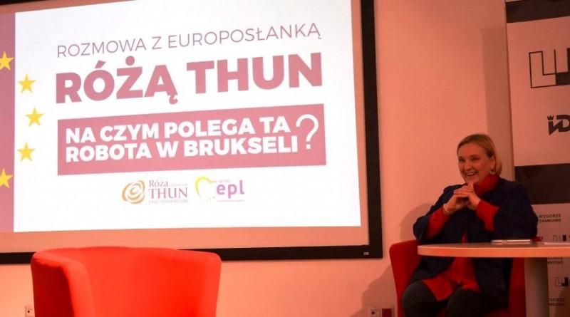 O jedynce Thun dowiedziała się w Kielcach