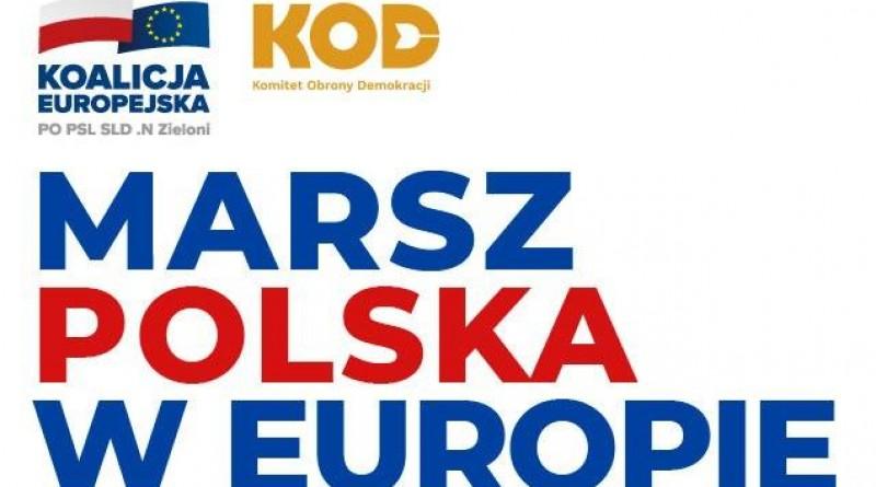Jedziemy na marsz Polska w Europie