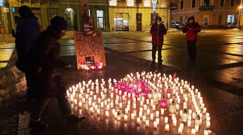 Ułożyliśmy serce dla Pawła Adamowicza