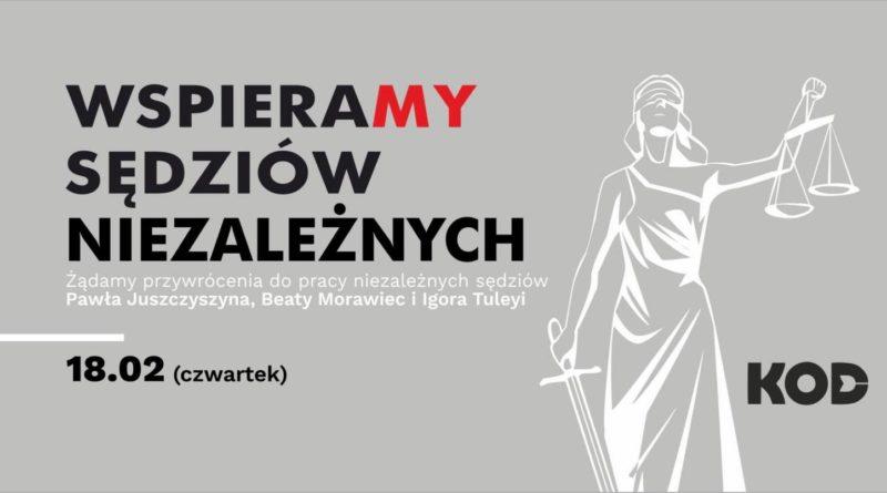 Dzień Solidarności z Represjonowanymi Sędziami.